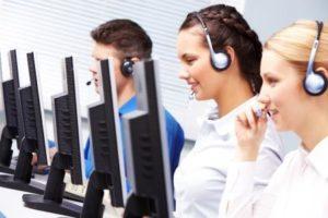 Hilfe und Support an der Hotline