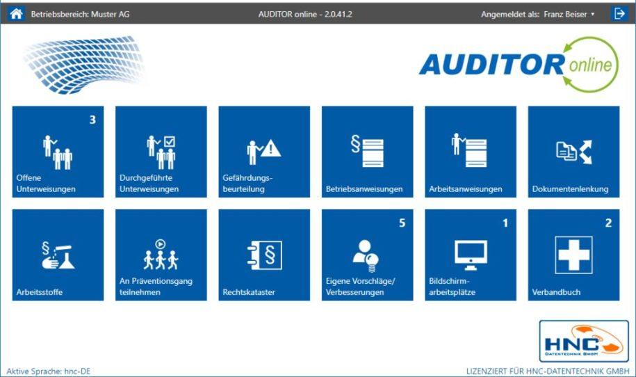AUDITOR online - elektronisches Verbandbuch anlegen
