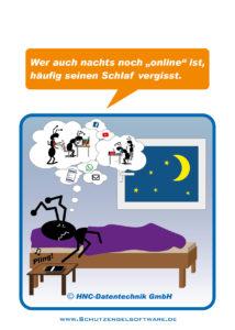 Arbeitsschutz-Ameisencomic | Schlaflos