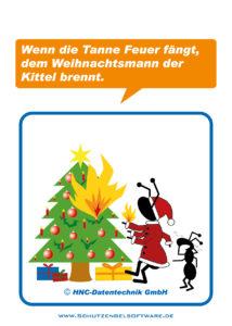 Arbeitsschutz-Ameisencomic | Weihnachten