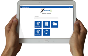 Arbeitsschutz AUDITOR app Modulansicht