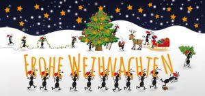 Weihnachtskarte 2019 Vorderseite
