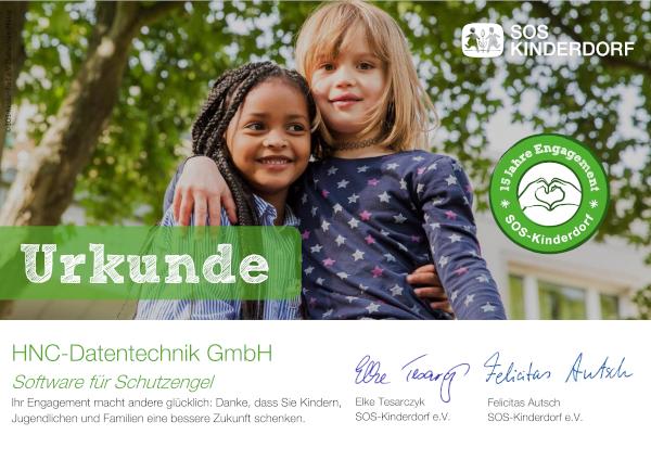 SOS-Kinderdorf_Treue-Urkunde_HNC-Datentechnik