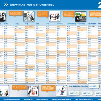 Der HNC Wandkalender 2021